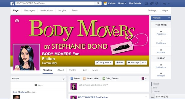 BodyMoversFanFiction FB image