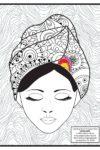 COMA GIRL coloring sheet 1 thumbnail-colored