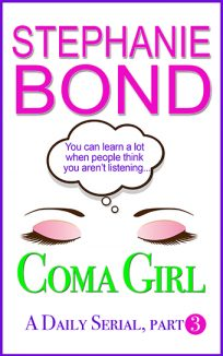 ebook cover coma girl part 3
