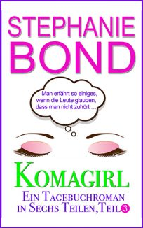 ebook cover coma girl part 3 german edition