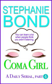 ebook cover coma girl part 4