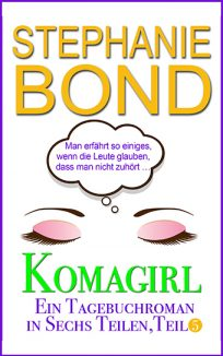 ebook cover coma girl part 5 german edition