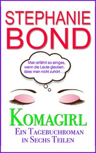 ebook cover coma girl serial german edition