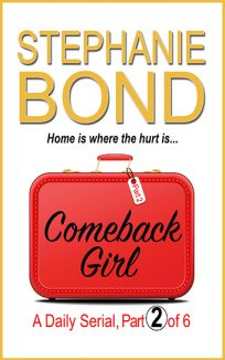 ebook cover comeback girl part 2
