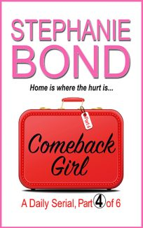 ebook cover comeback girl part 4