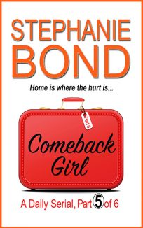 ebook cover comeback girl part 5