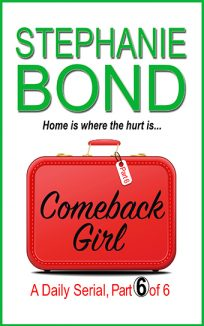 ebook cover comeback girl part 6