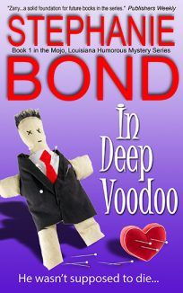 ebook cover in deep voodoo